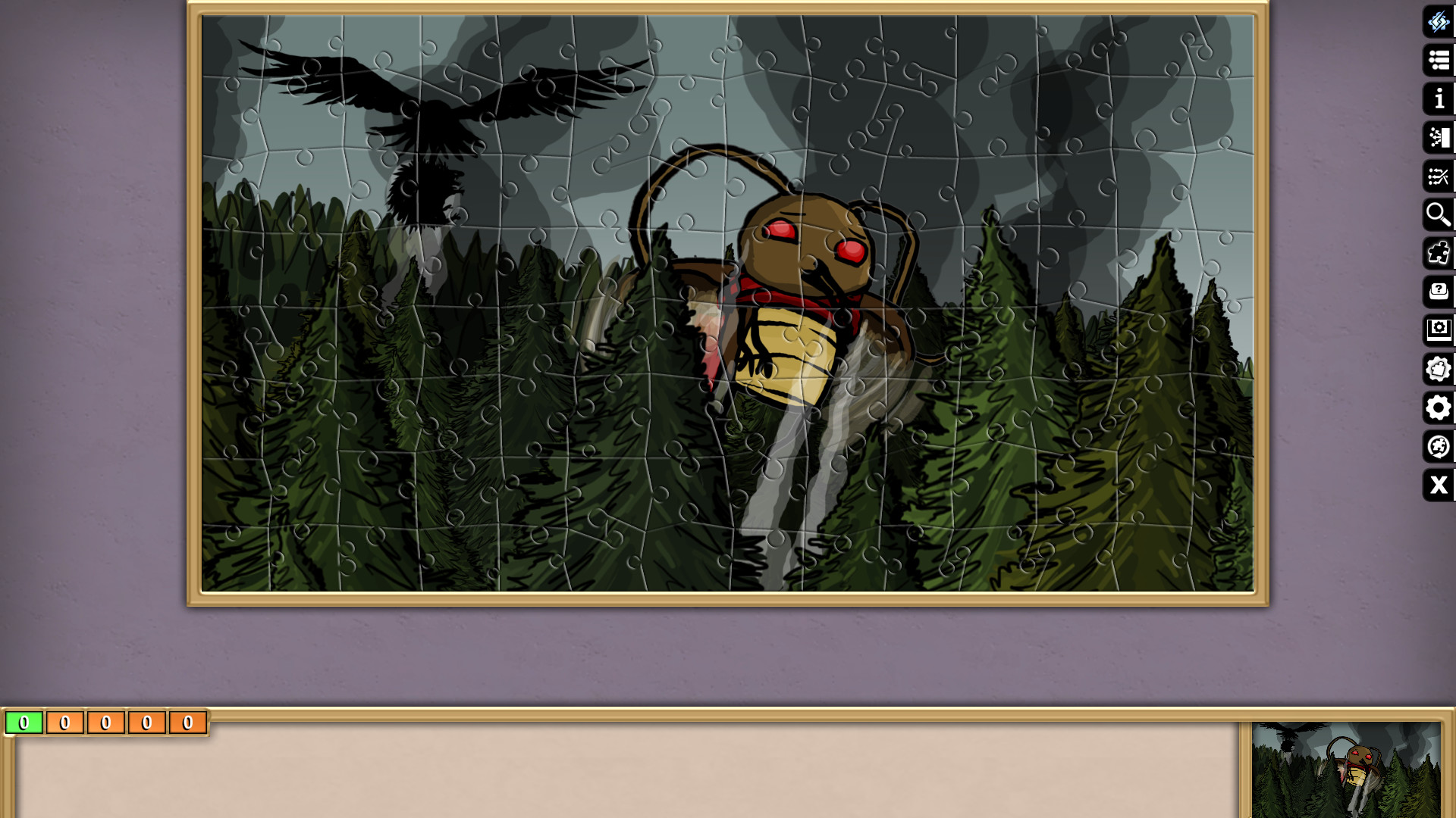 Jigsaw Puzzle Pack - Pixel Puzzles Ultimate: PP2 RADical ROACH screenshot