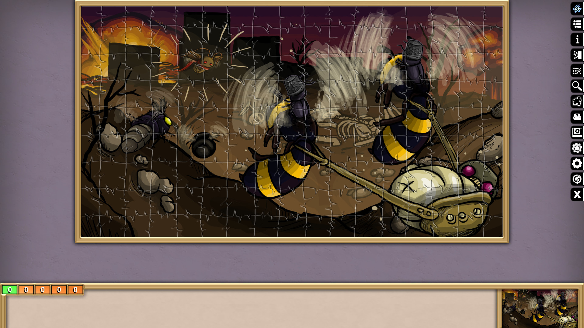 Pixel Puzzles Ultimate - Puzzle Pack: PP2 RADical ROACH screenshot