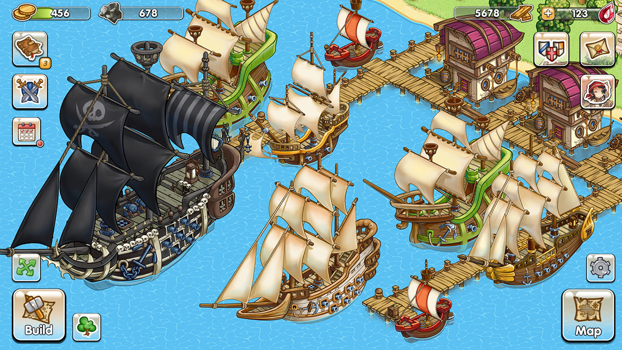 Pirates of Everseas screenshot