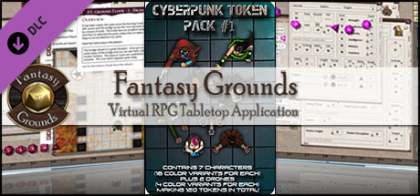 Free Fantasy Grounds - Cyberpunk 1 (Token Pack) Steam Key Generator