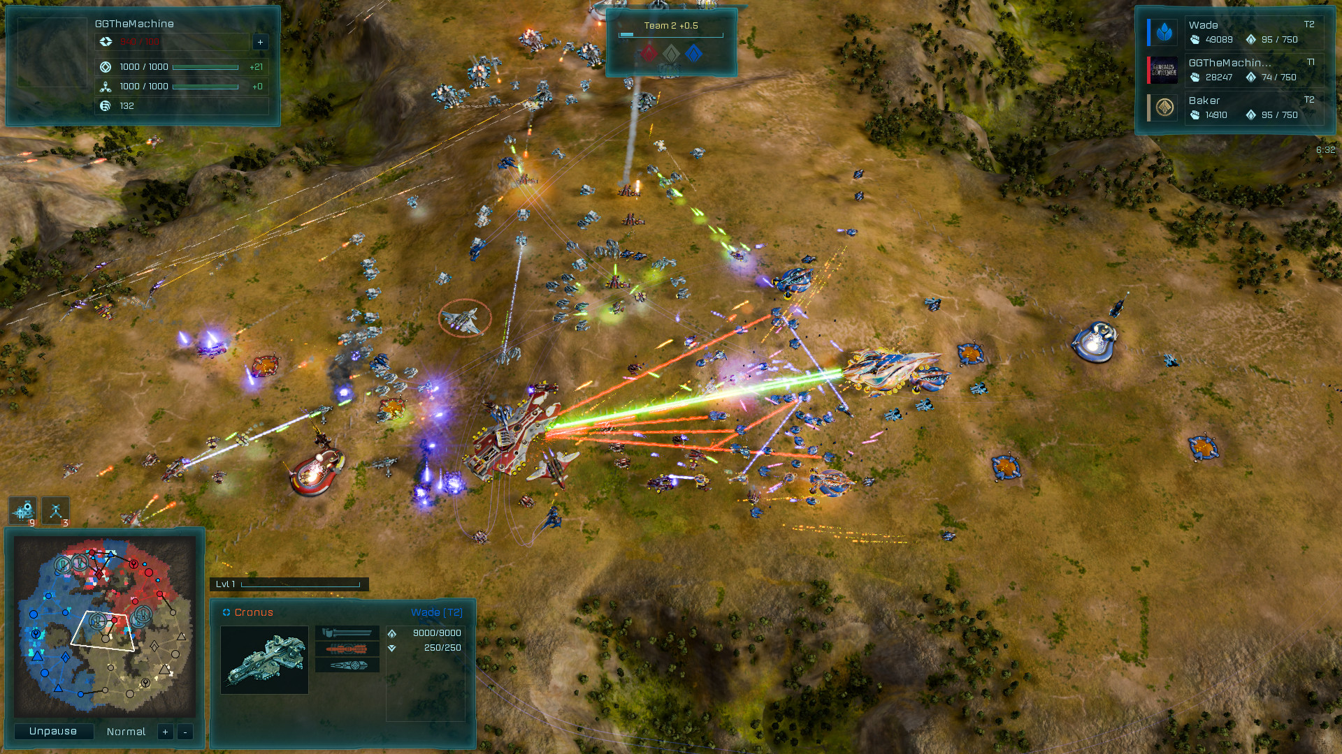 Ashes of the Singularity: Escalation - Inception DLC screenshot