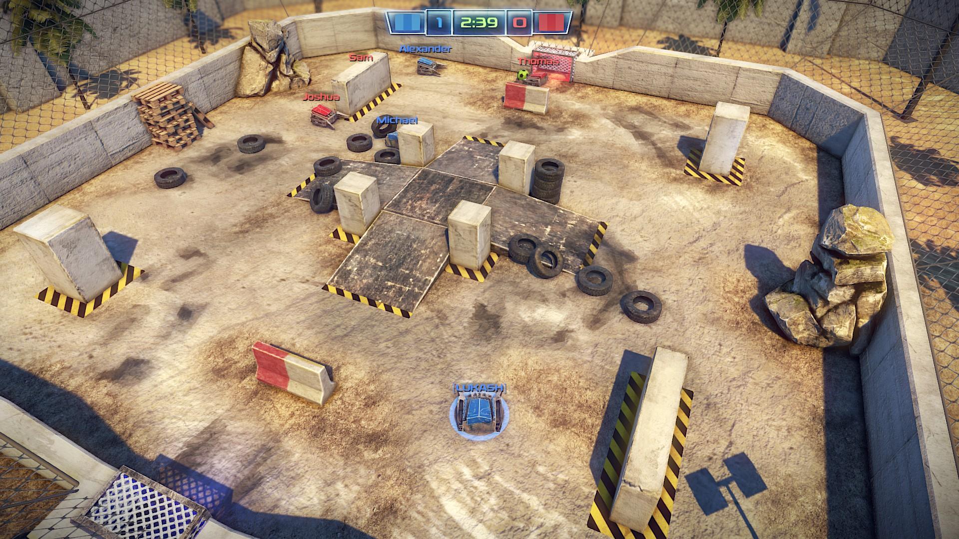 Robot Soccer Challenge screenshot