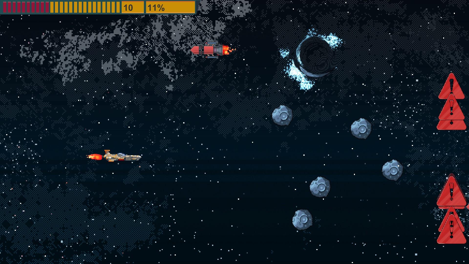 Space Impact Glitch screenshot