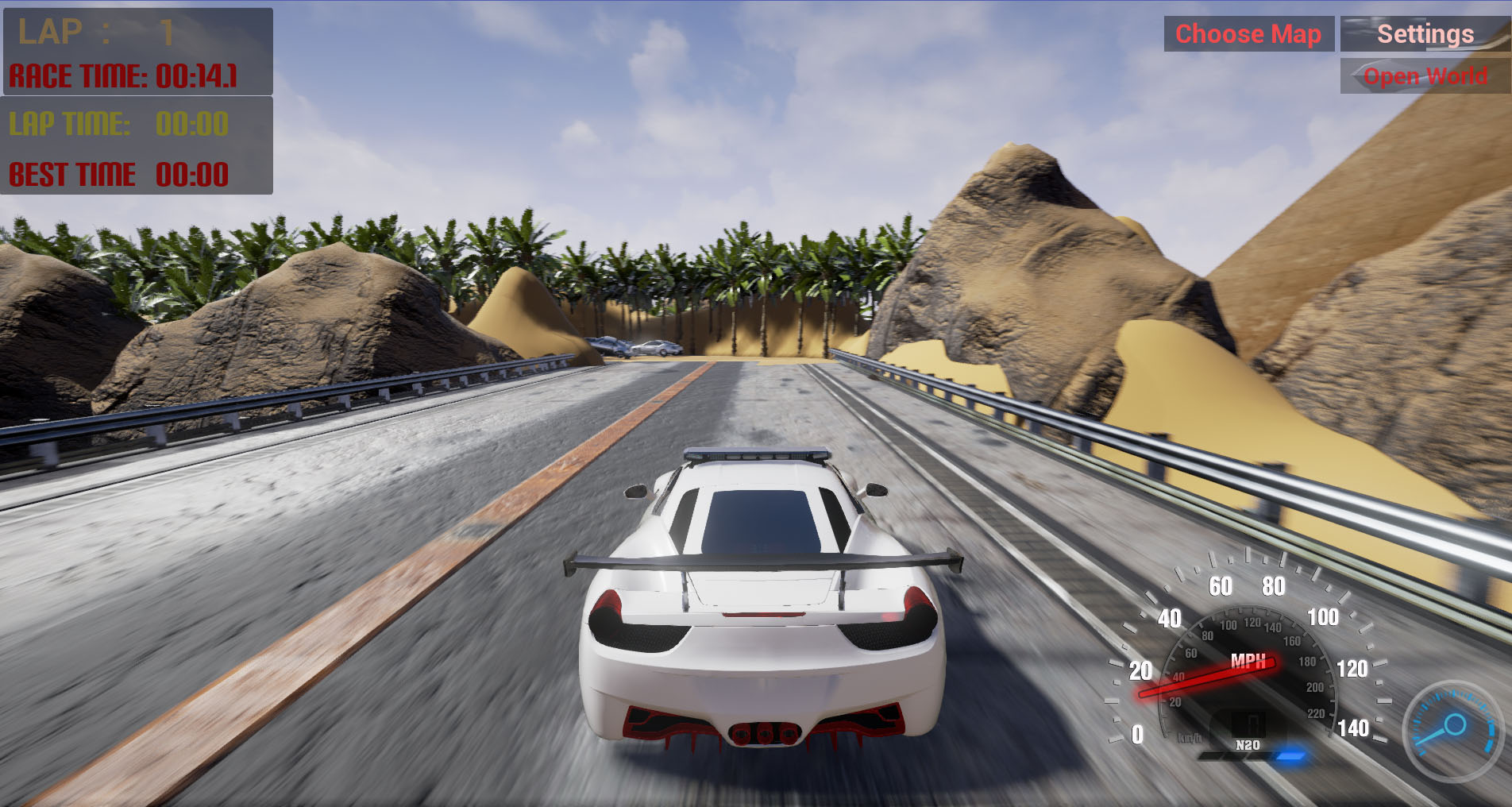Nash Racing screenshot