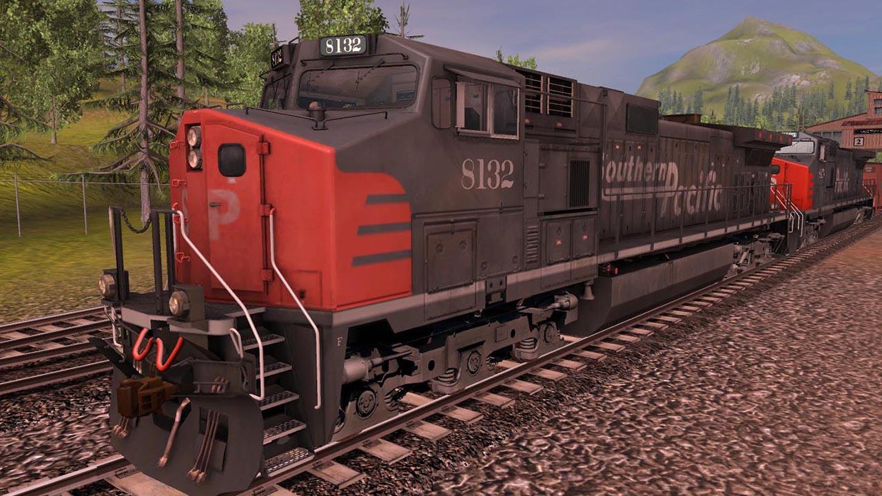 Trainz 2019 DLC: Southern Pacific GE CW44-9 screenshot