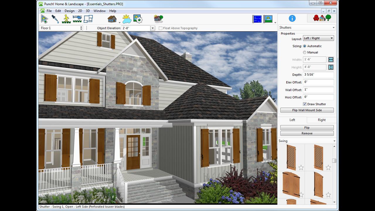 Save 50% on Punch! Home & Landscape Design Essentials v19 on Steam