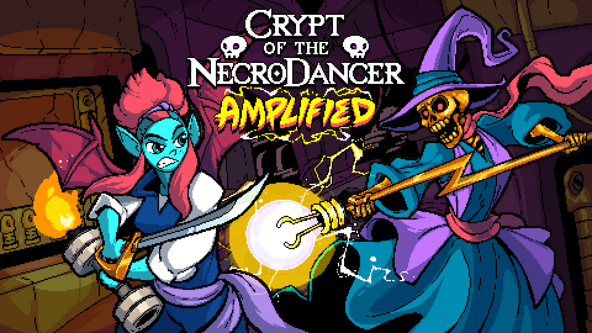 Crypt of the NecroDancer: AMPLIFIED OST - Virt and Girlfriend Records screenshot