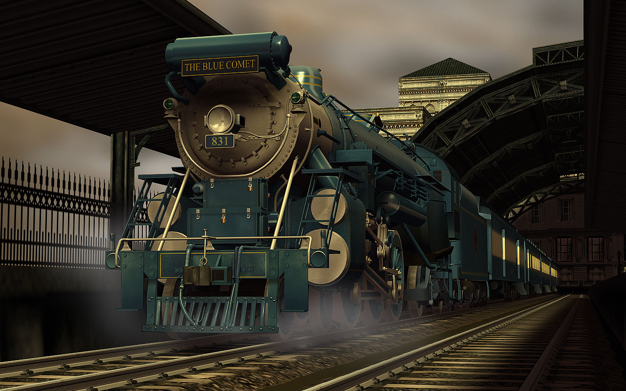 Trainz 2019 DLC: Blue Comet screenshot