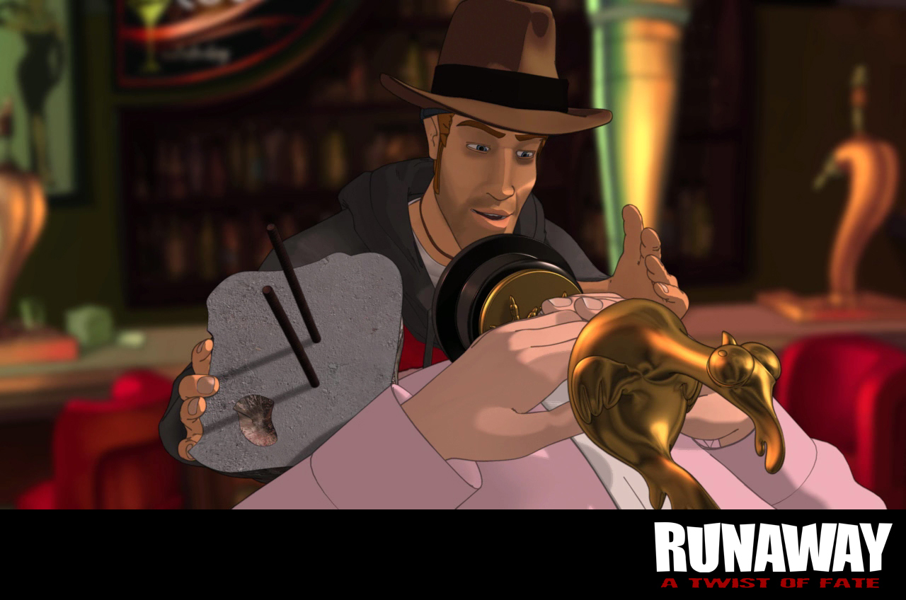 Runaway: A Twist of Fate screenshot