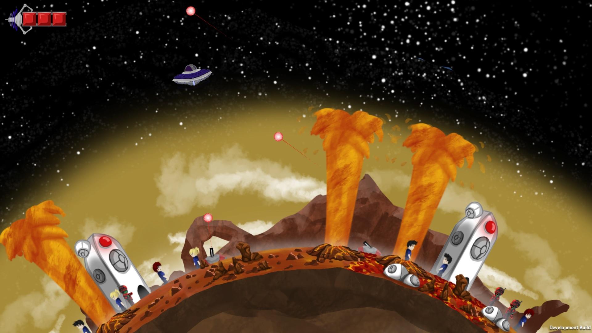 UFO - Unfortunately Fortunate Organisms screenshot