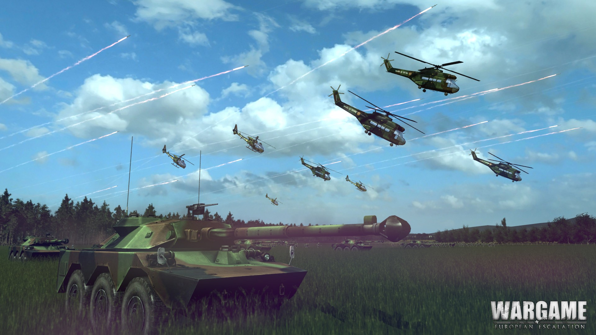 Wargame: European Escalation - Commander screenshot