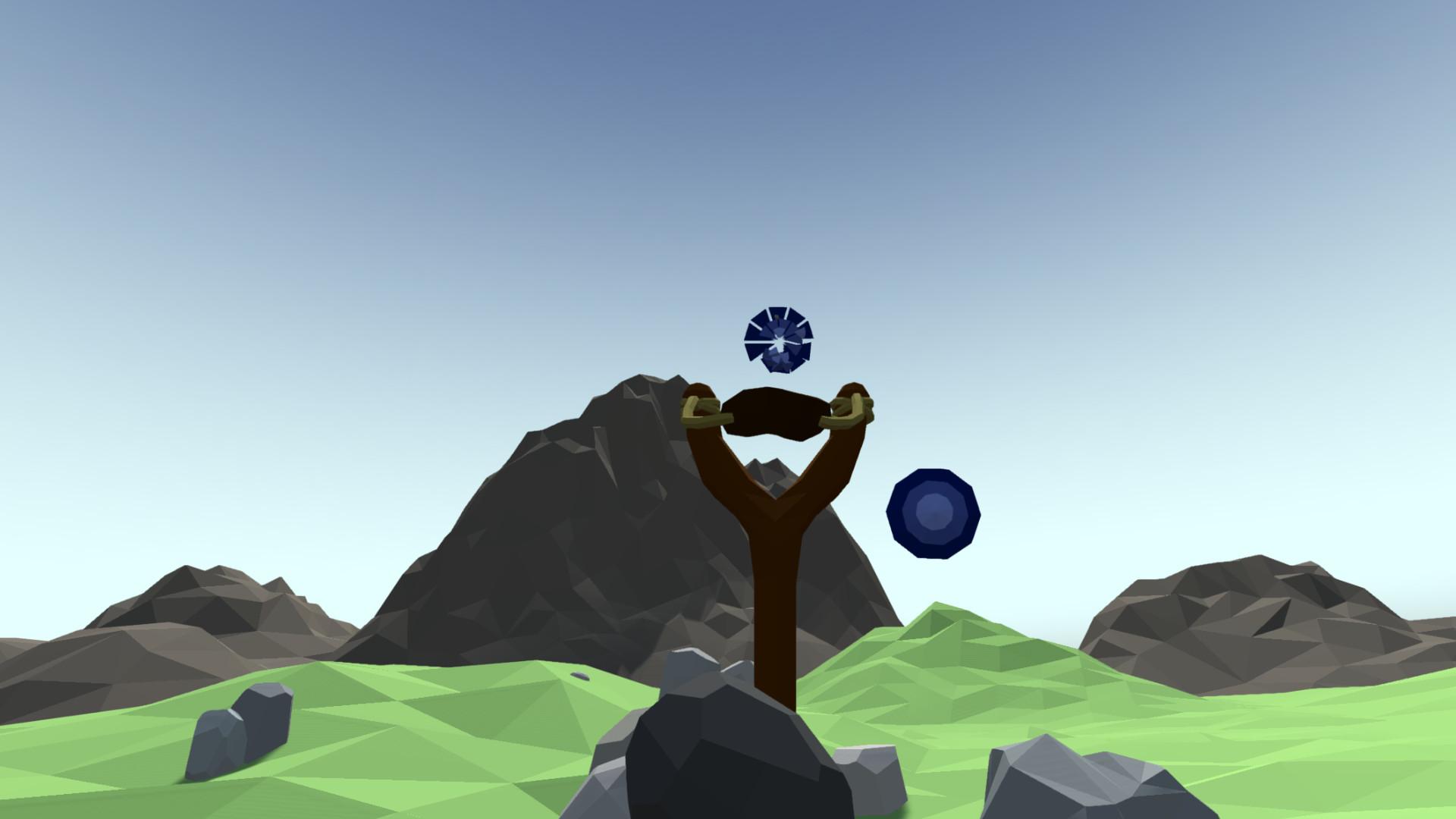 Just VR Slingshot Target Practice screenshot