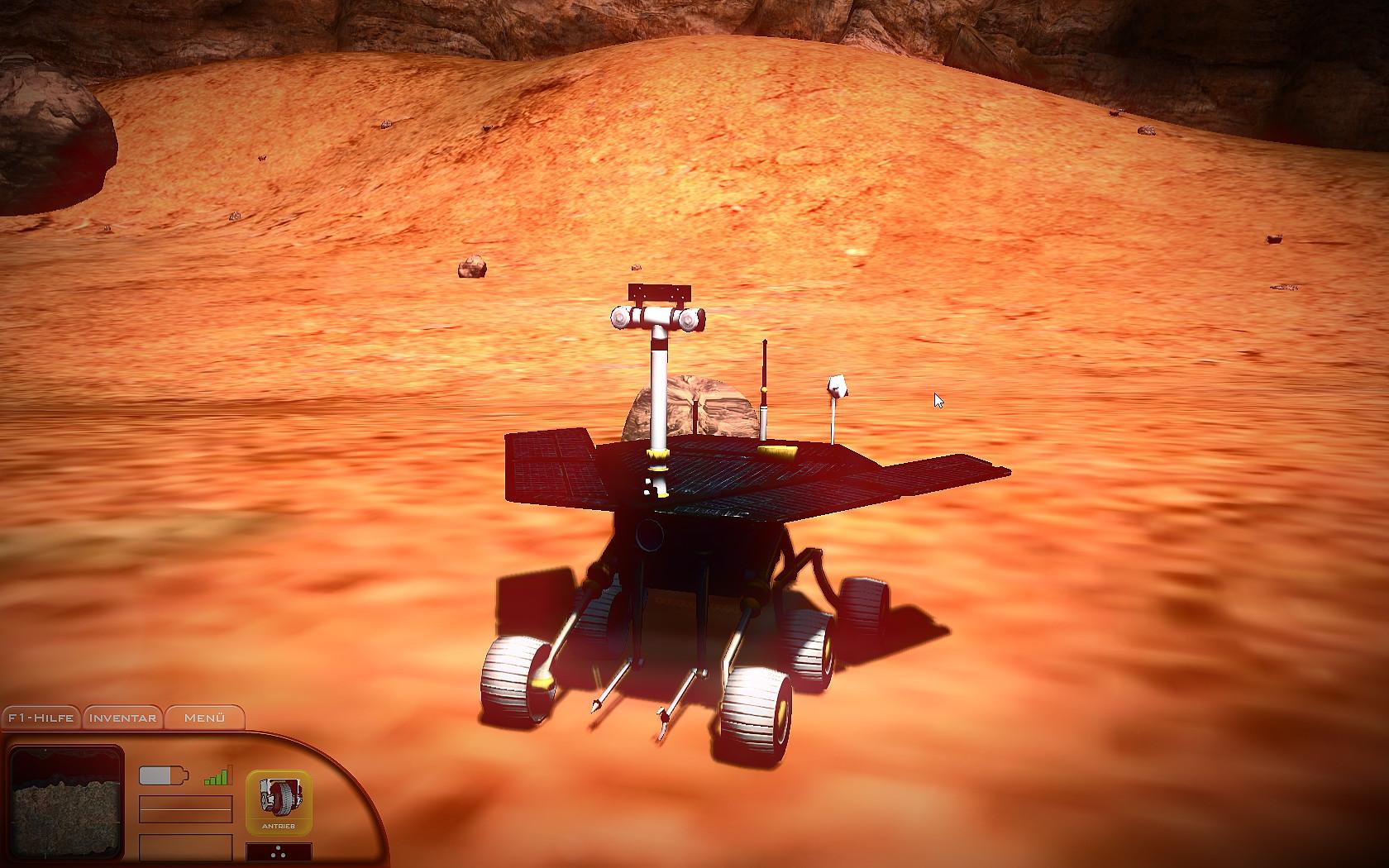 MARS SIMULATOR - RED PLANET screenshot