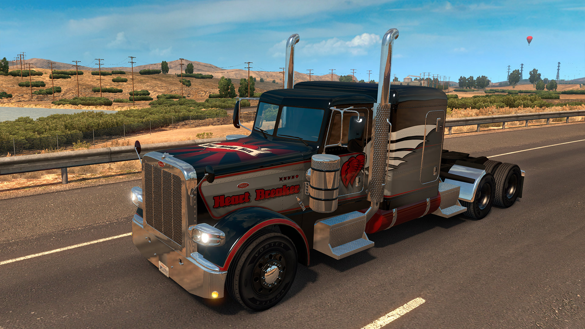 American Truck Simulator - Valentine's Paint Jobs Pack screenshot