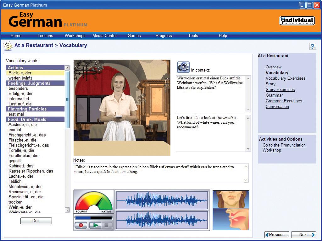 Easy German Platinum screenshot