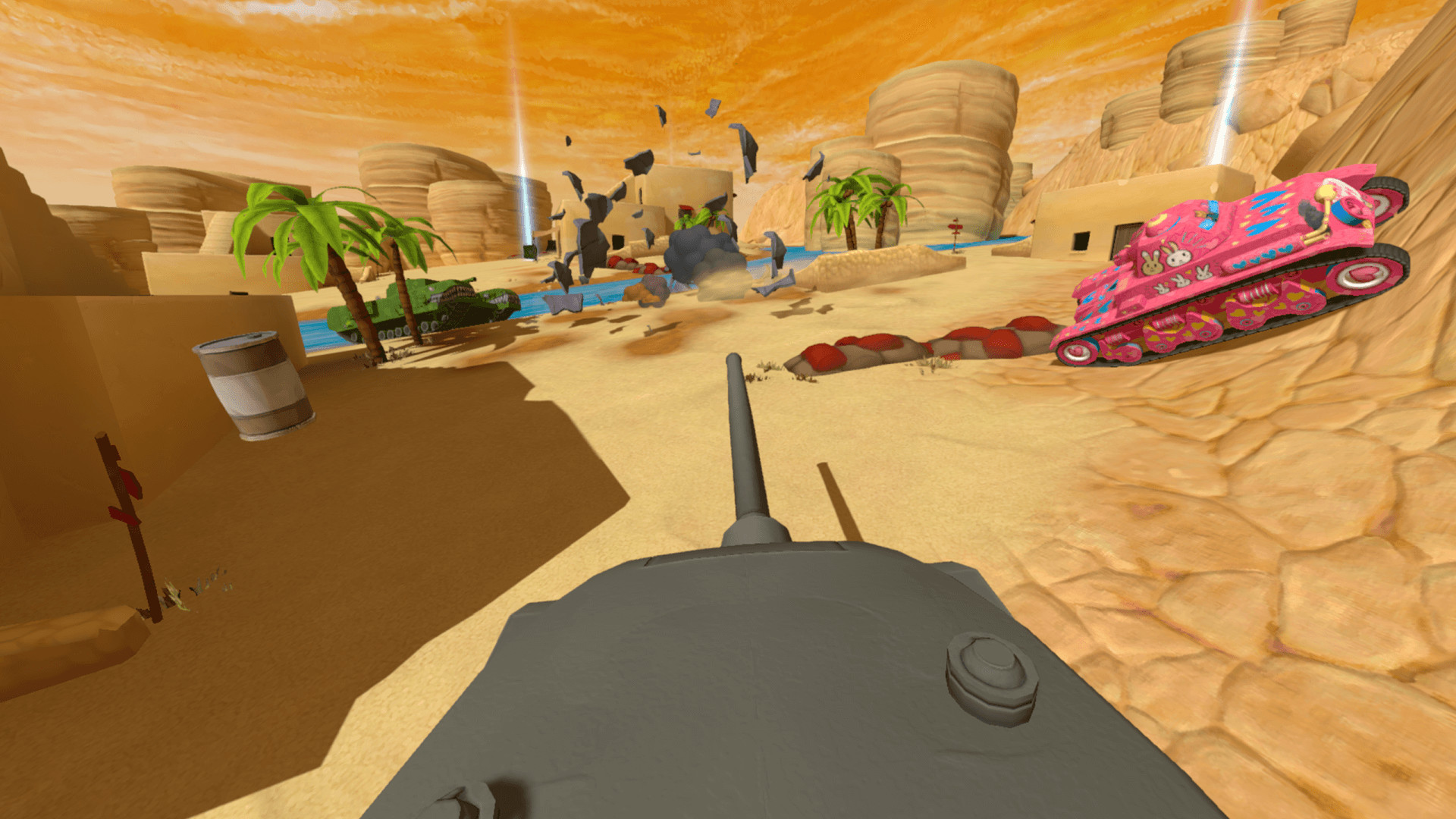 Panzer Panic VR screenshot