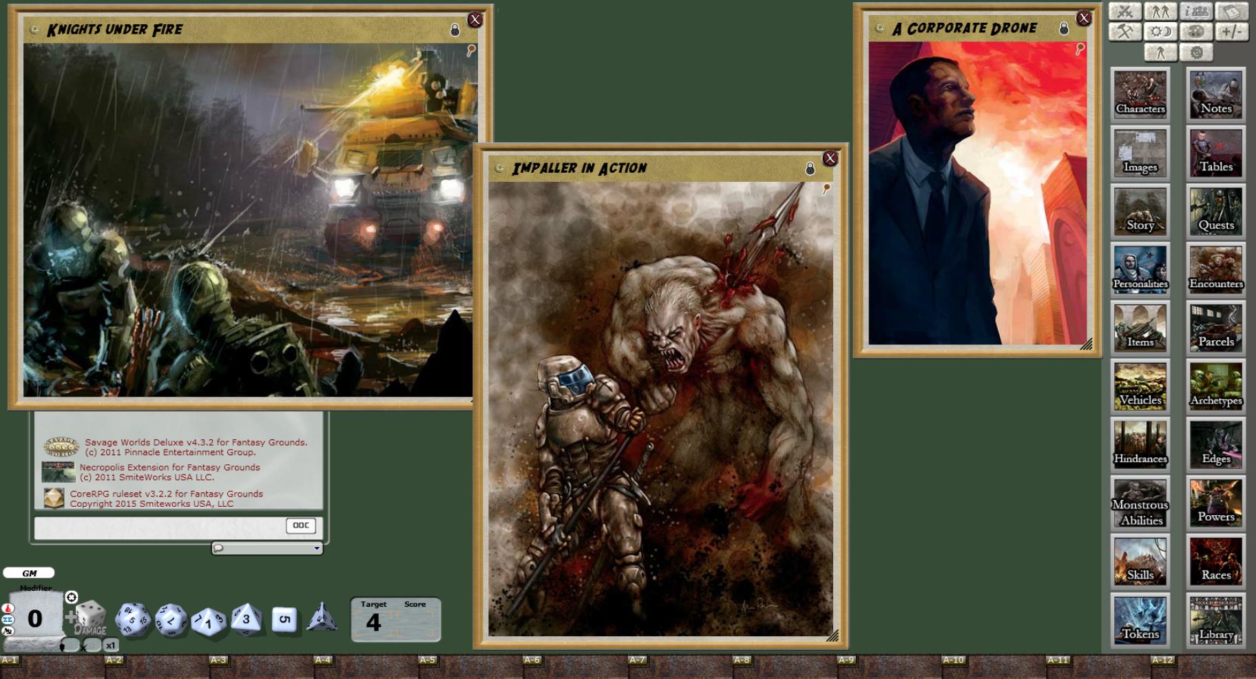Fantasy Grounds - Necropolis 2350: Setting (Savage Worlds) screenshot