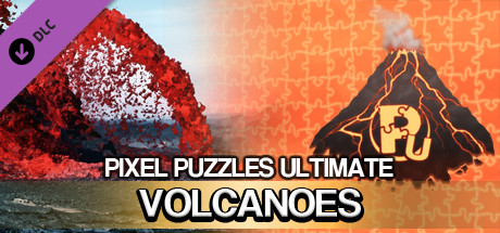 Jigsaw Puzzle Pack - Pixel Puzzles Ultimate: Volcanoes