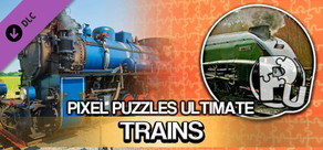 Pixel Puzzles Ultimate - Puzzle Pack: Trains