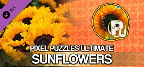 Jigsaw Puzzle Pack - Pixel Puzzles Ultimate: Sunflowers