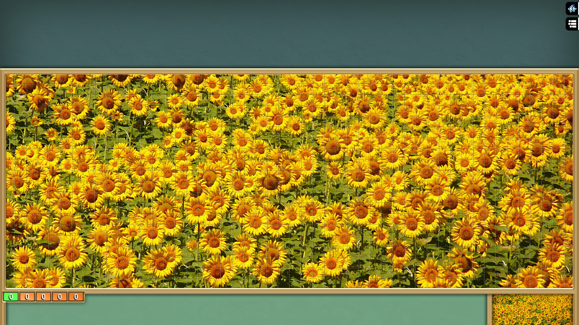 Pixel Puzzles Ultimate - Puzzle Pack: Sunflowers screenshot