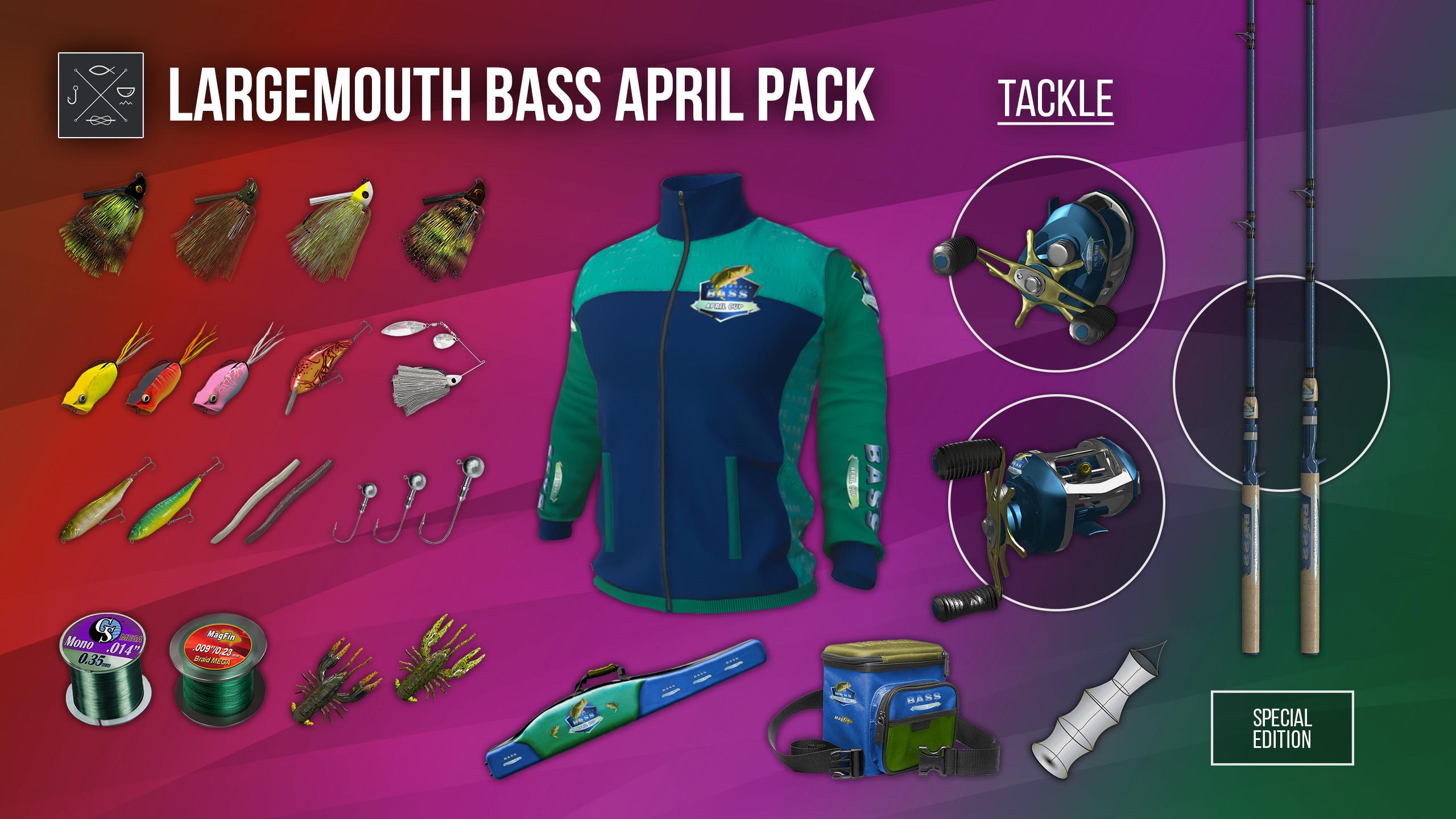 Fishing Planet: Largemouth Bass April Pack screenshot