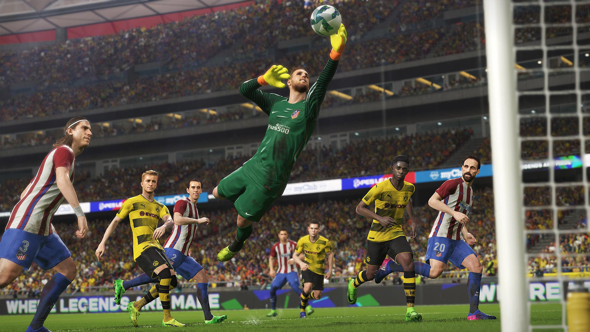 Pro Evolution Soccer 2018 [2017|Rus|Eng]