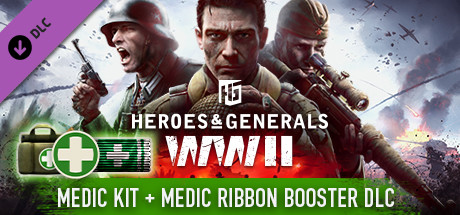Cheap Heroes & Generals - Medkit & Medic Ribbon Boosters free key