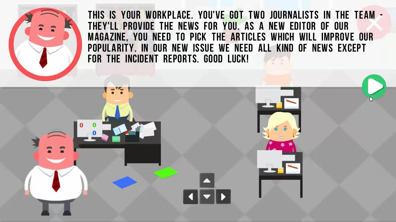 Magazime Editor screenshot