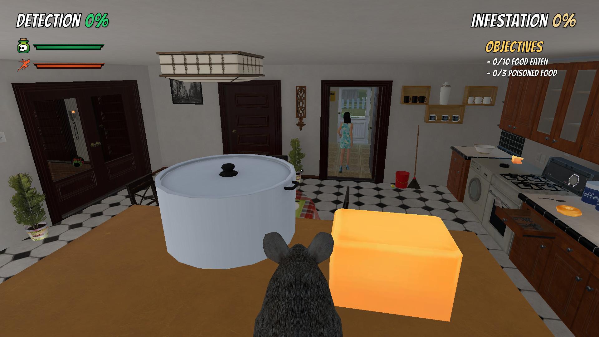 Rat Simulator (Visualnoveler) (RUS/ENG/MULTI10) [L]