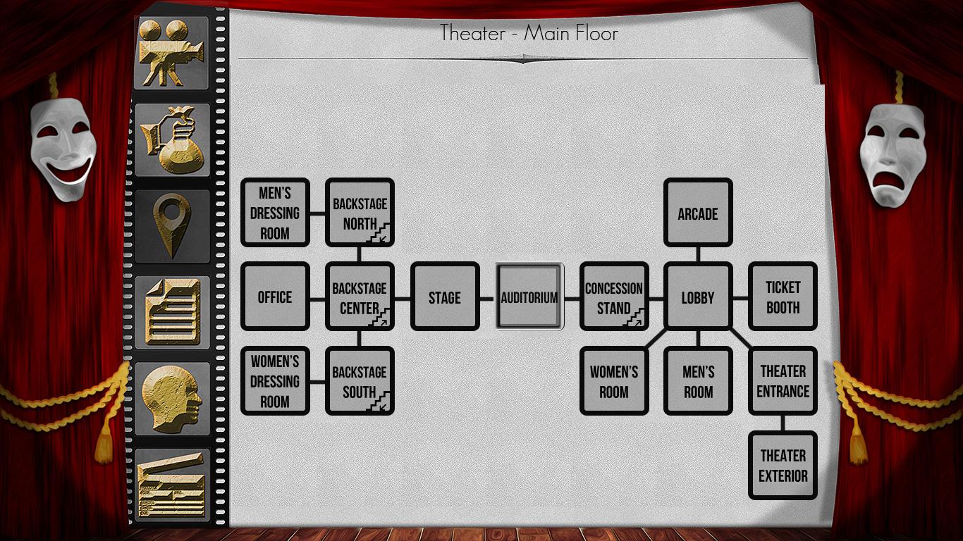 The Filmmaker - A Text Adventure screenshot