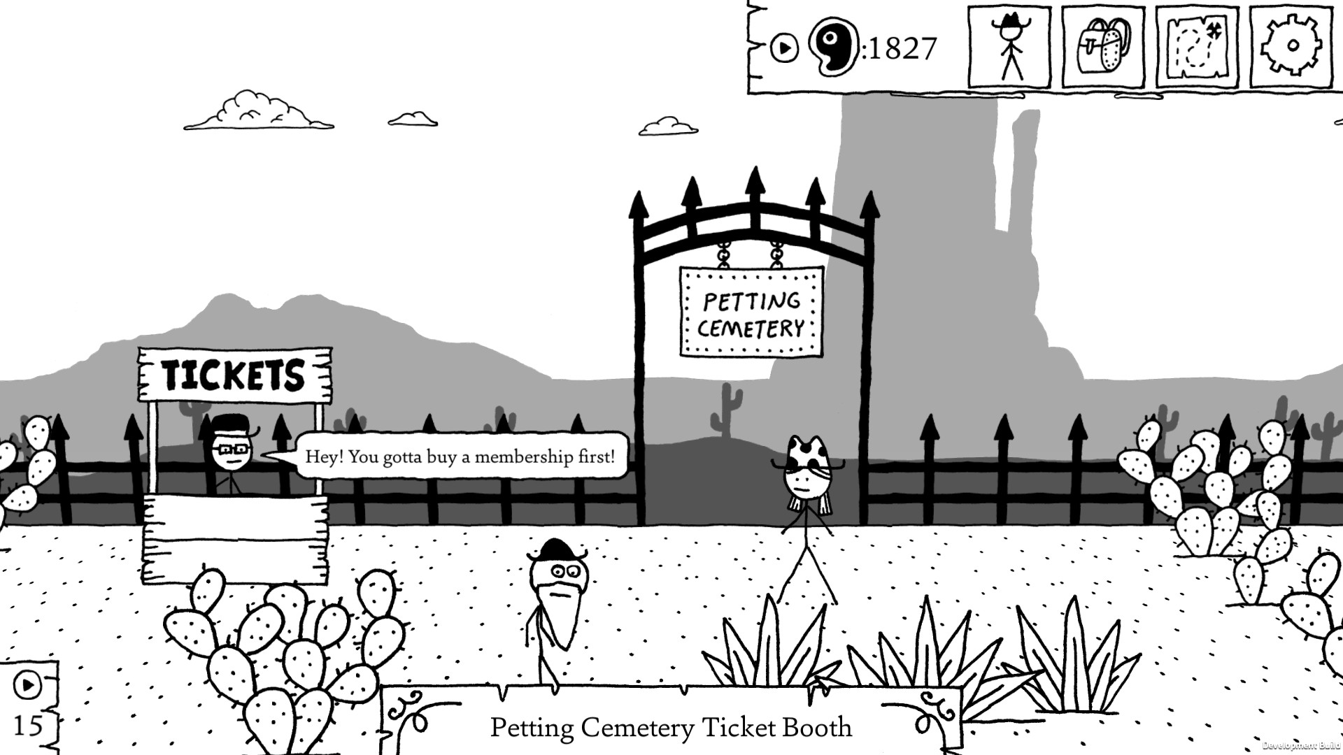 West of Loathing screenshot