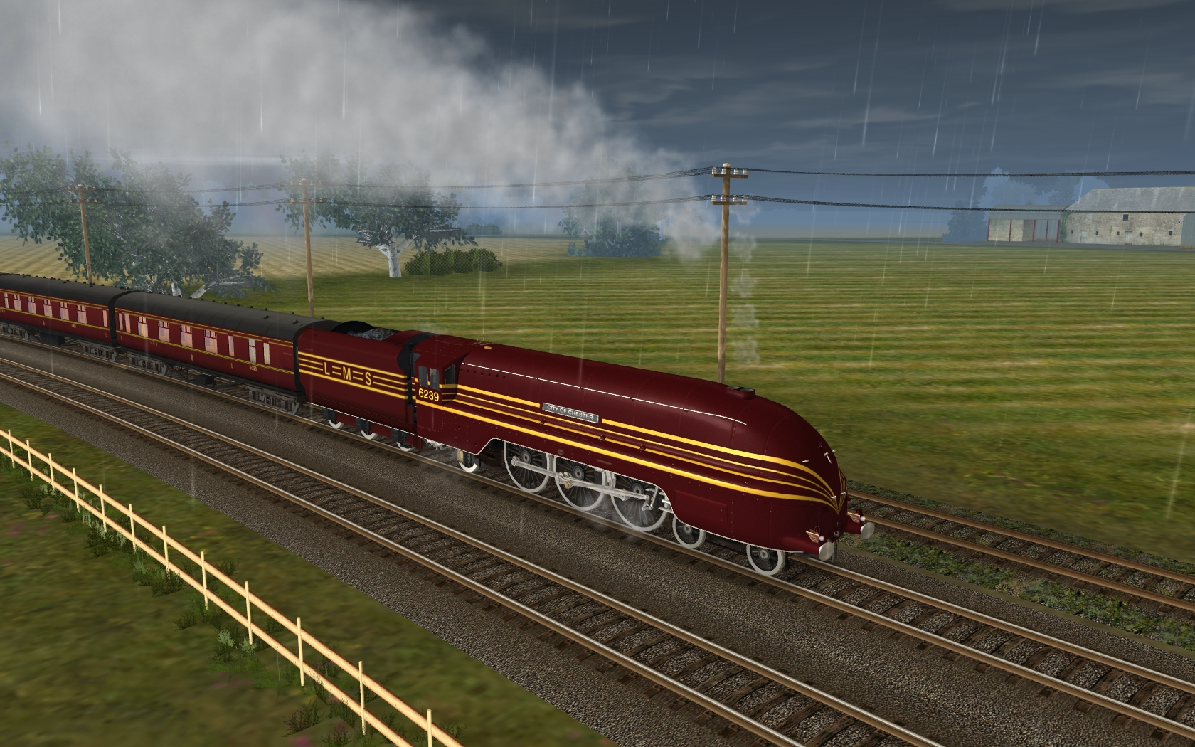 Trainz 2019 DLC: LMS Coronation Scot screenshot