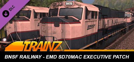 Trainz 2019 DLC: BNSF Railway EMD SD70MAC Executive Patch