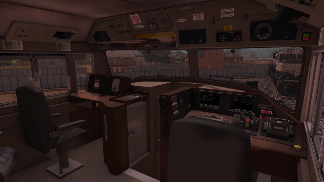 Trainz 2019 DLC: BNSF Railway EMD SD70MAC Executive Patch screenshot