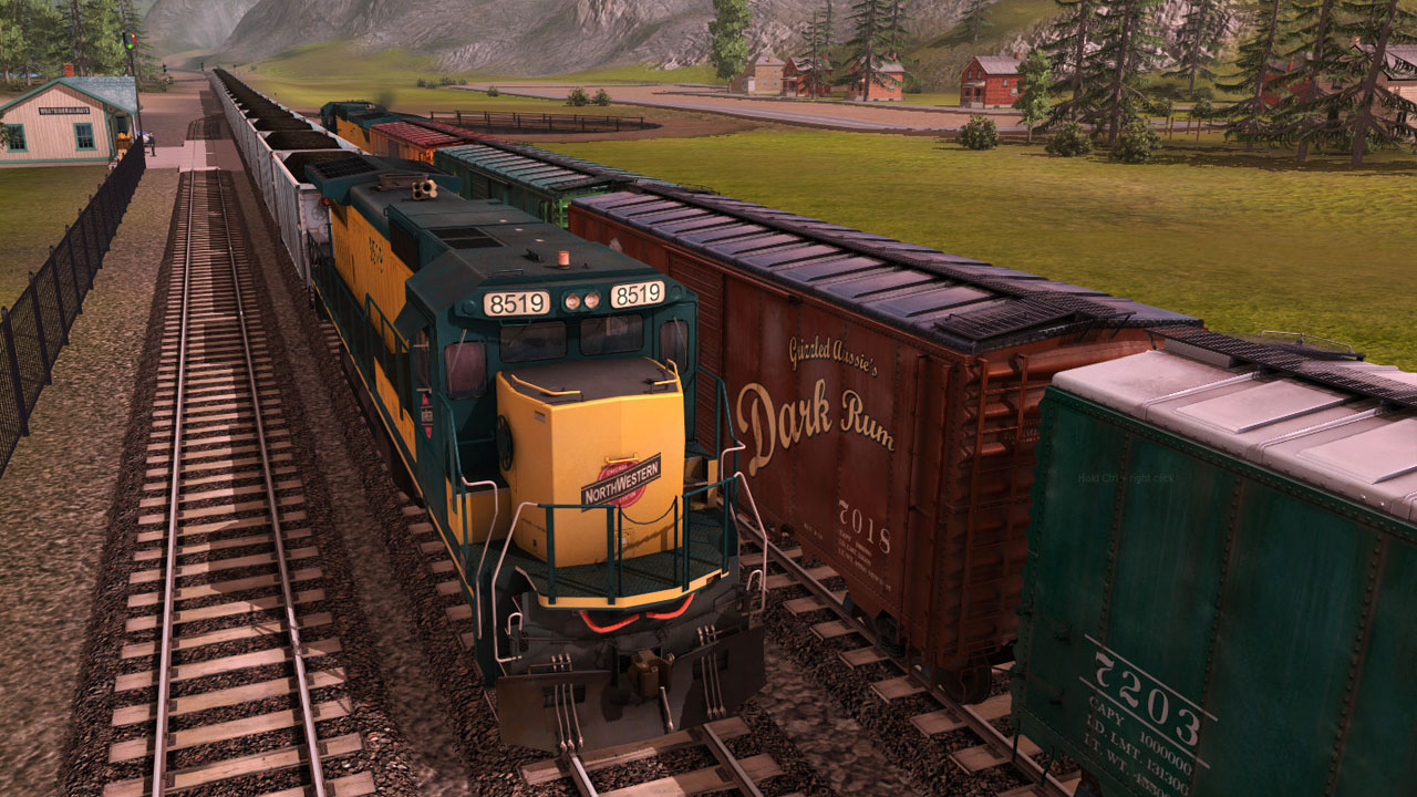 Trainz 2019 DLC: Chicago & North Western GE C40-8 screenshot