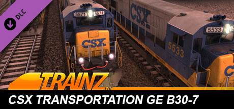 Trainz 2019 DLC: CSX Transportation GE B30-7