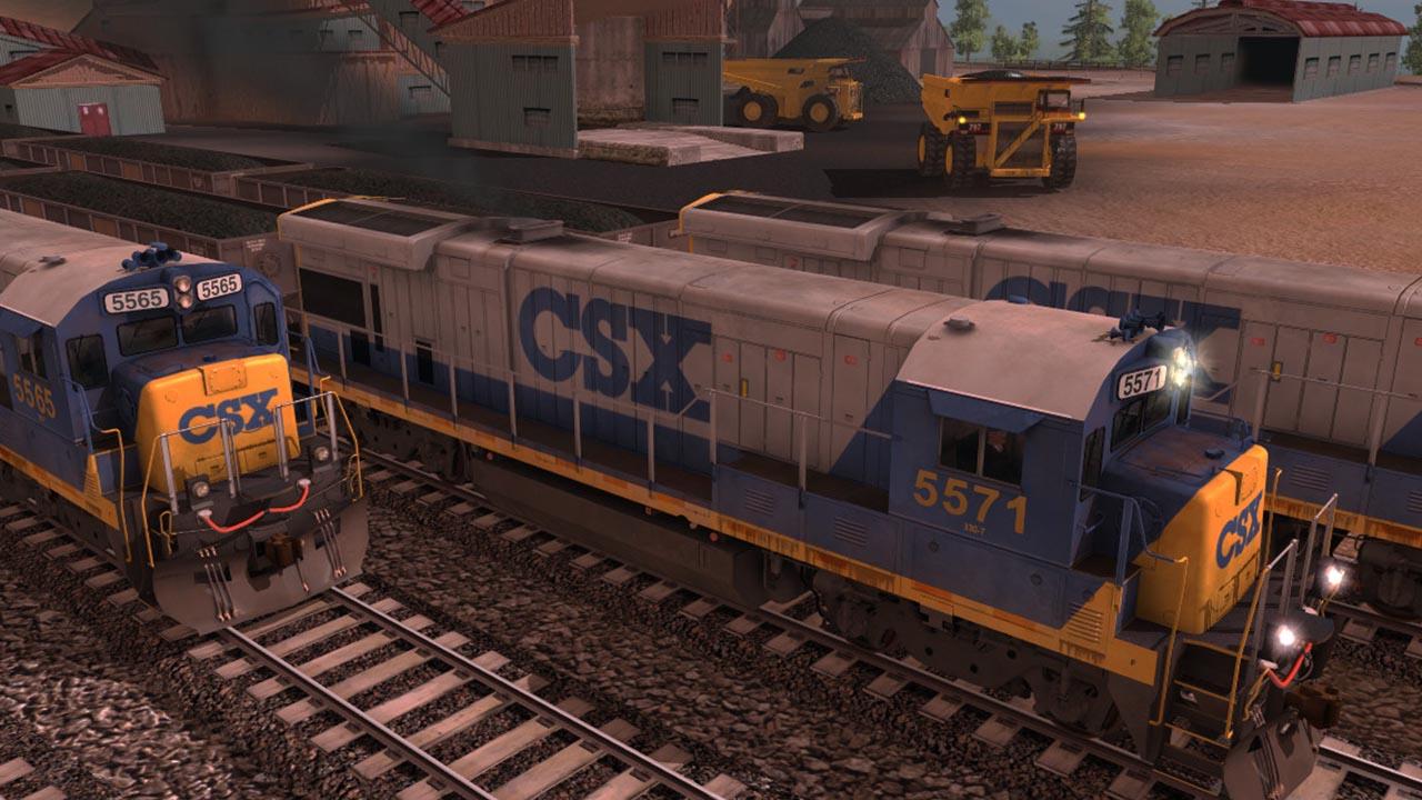 Trainz 2019 DLC: CSX Transportation GE B30-7 screenshot