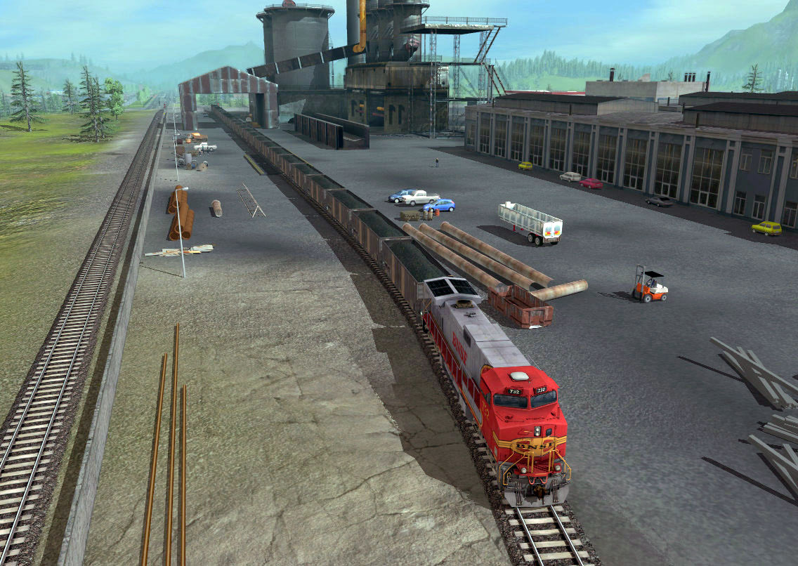 Trainz 2019 DLC: BNSF GE Dash-9 44CW Warbonnet screenshot