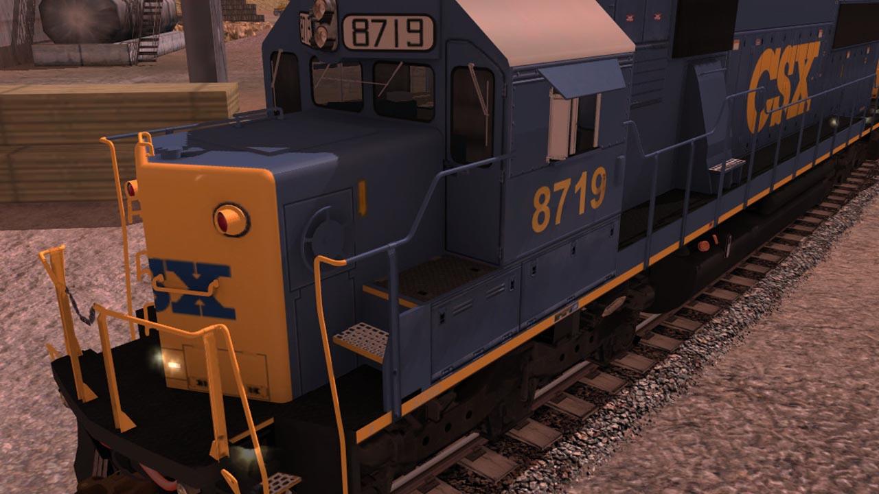 Trainz 2019 DLC: CSX EMD SD60 screenshot