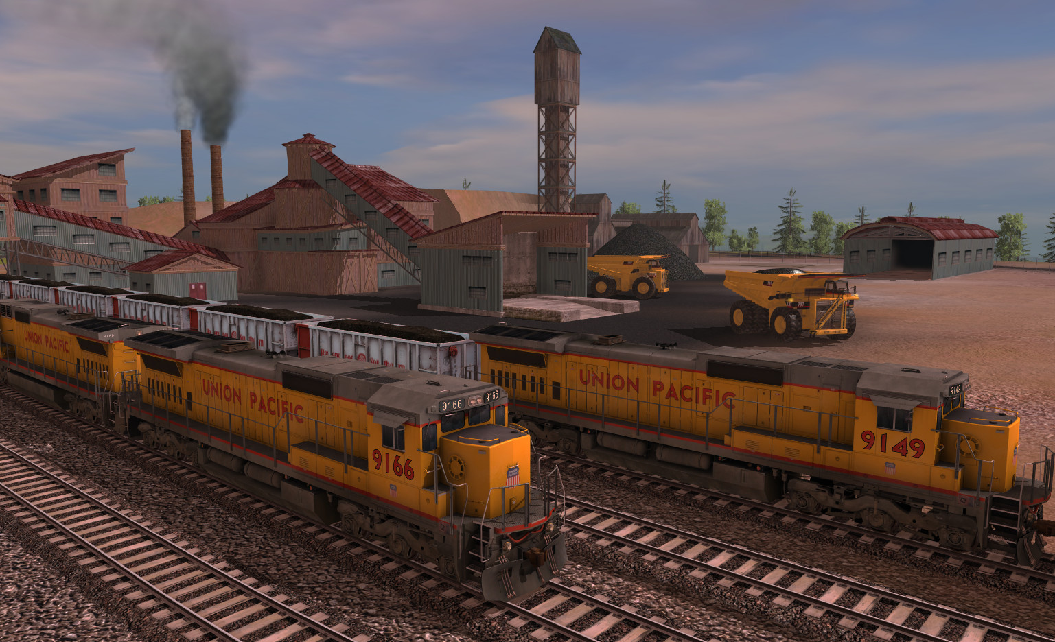 Trainz 2019 DLC: Union Pacific GE C40-8 screenshot