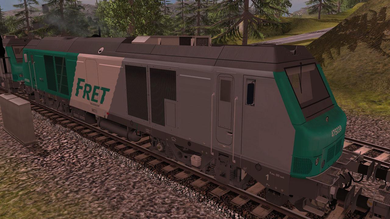 Trainz 2019 DLC: SNCF BB 75000 screenshot