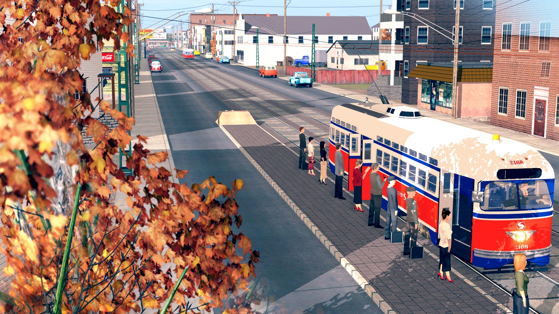 Trainz 2019 DLC: Season Town Northern Rail Road Route screenshot