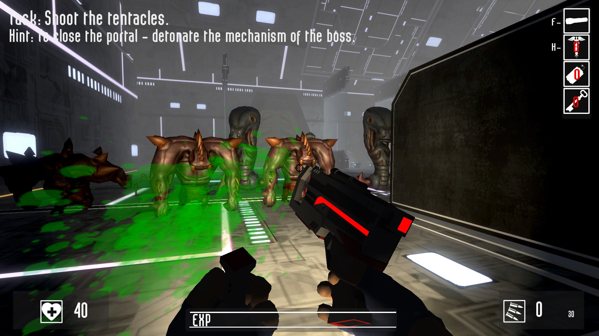 The guard of dungeon screenshot