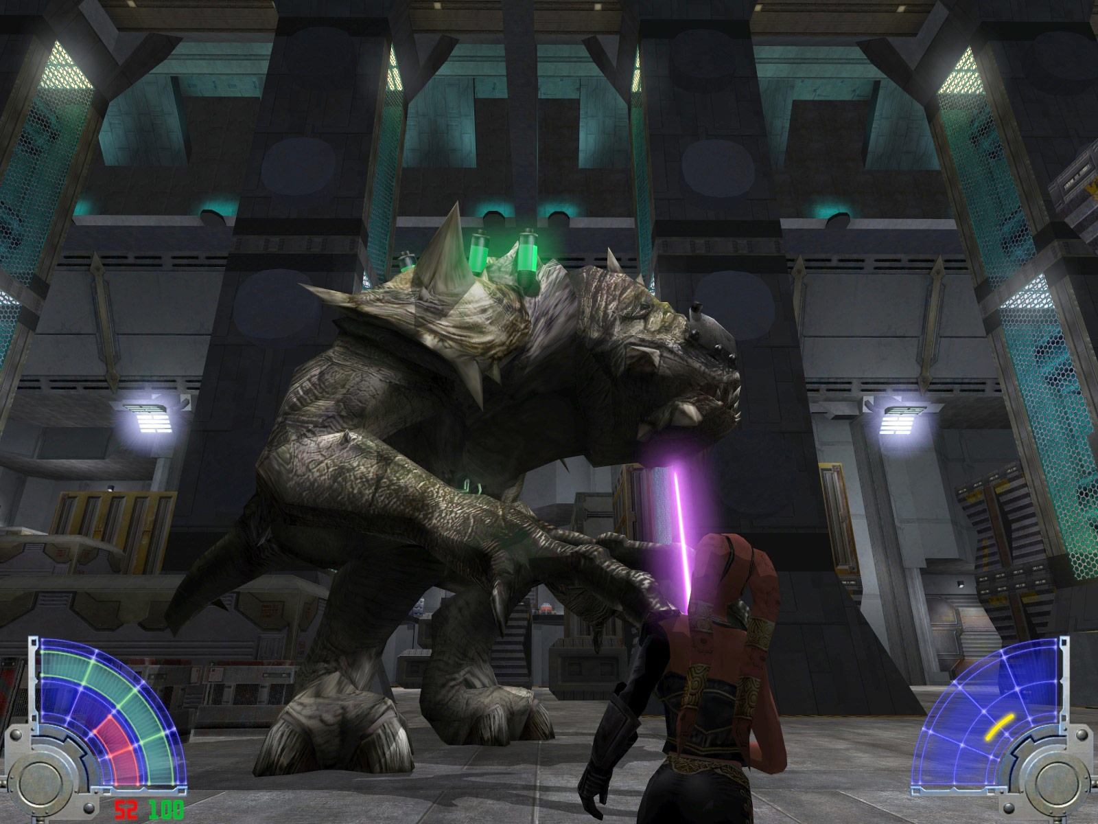 STAR WARS Jedi Knight - Jedi Academy screenshot