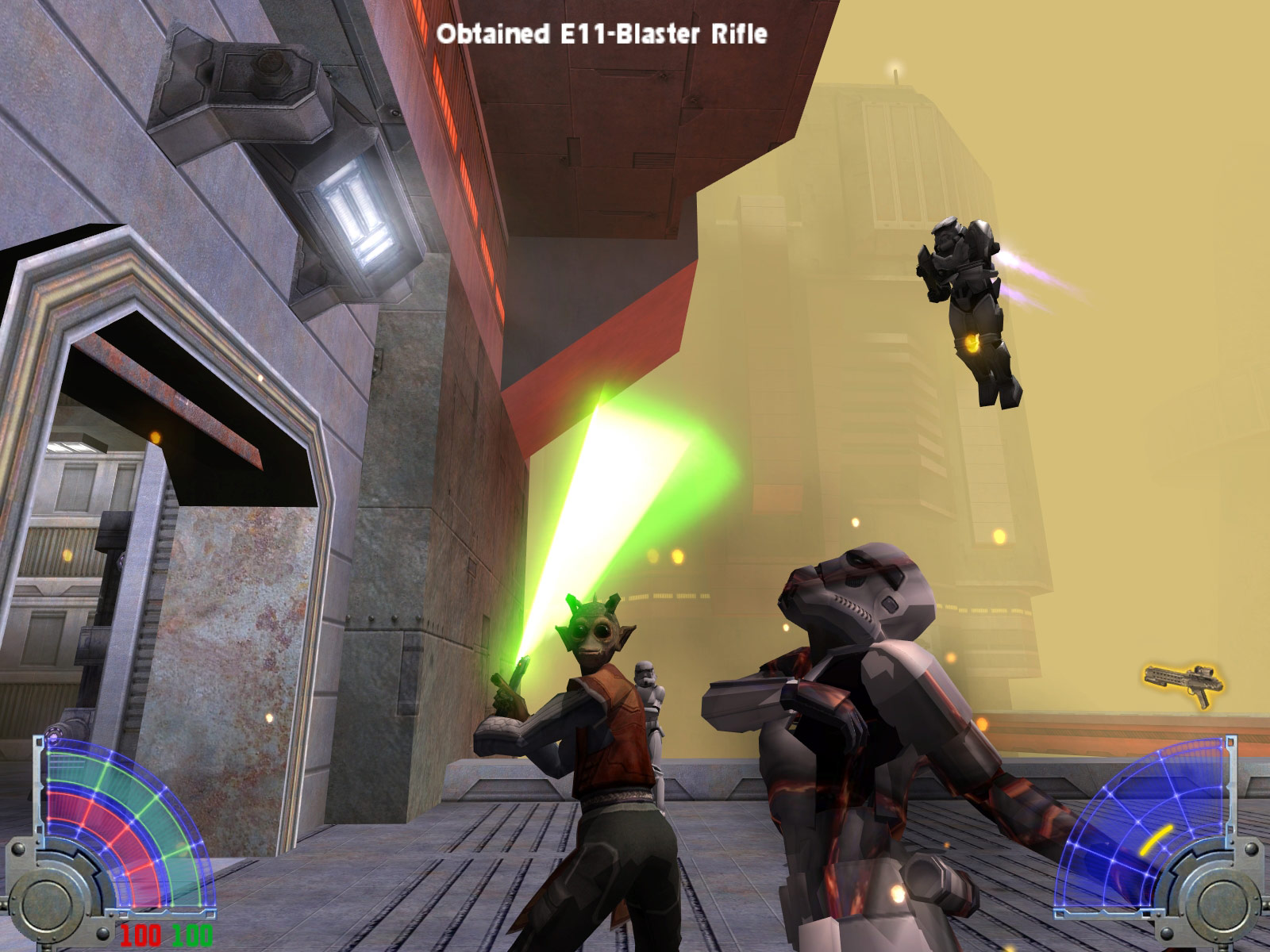 STAR WARS Jedi Knight - Jedi Academy screenshot