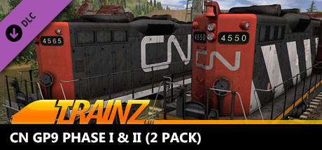 Trainz 2019 DLC: CN GP9 Phase I & II (2 Pack)