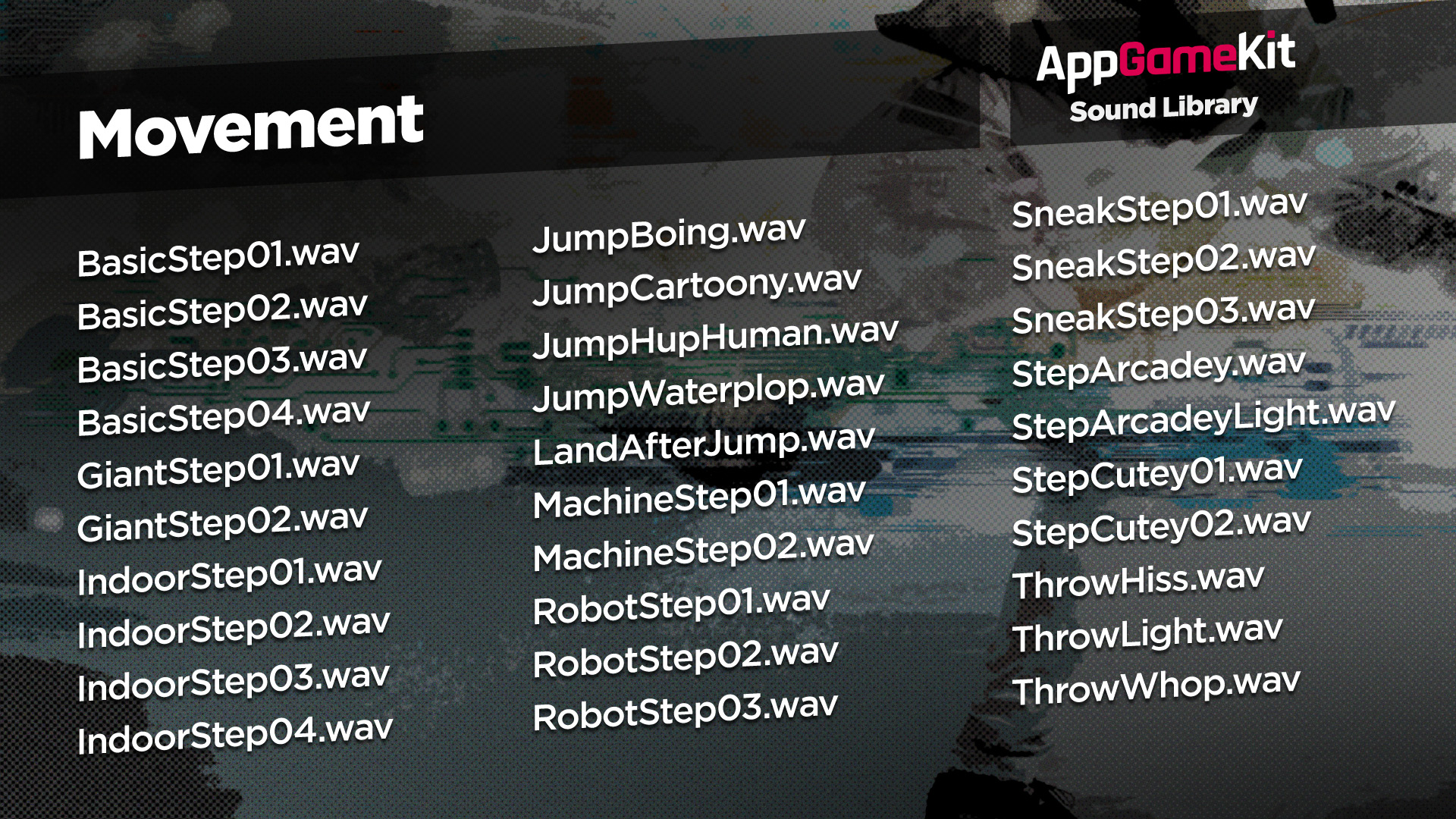 AppGameKit Sound Library screenshot