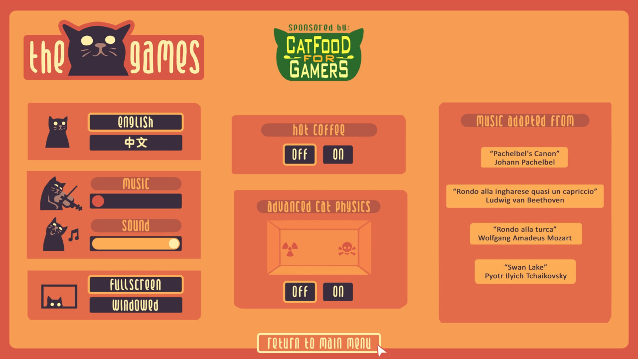 The Cat Games screenshot