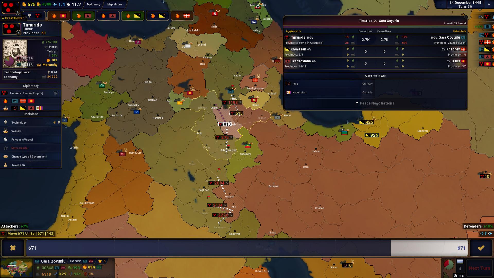 Age of History II screenshot